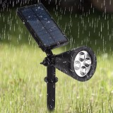 LED Solar lighting best performance solar garden outdoor light Ground light